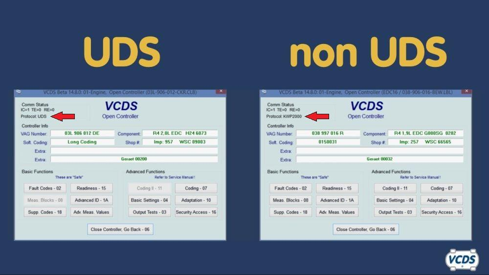 Оригинальные прошивки VAG UDS