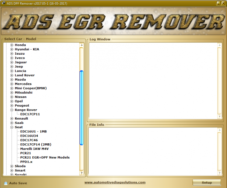 EGR DPF Lambda Remover