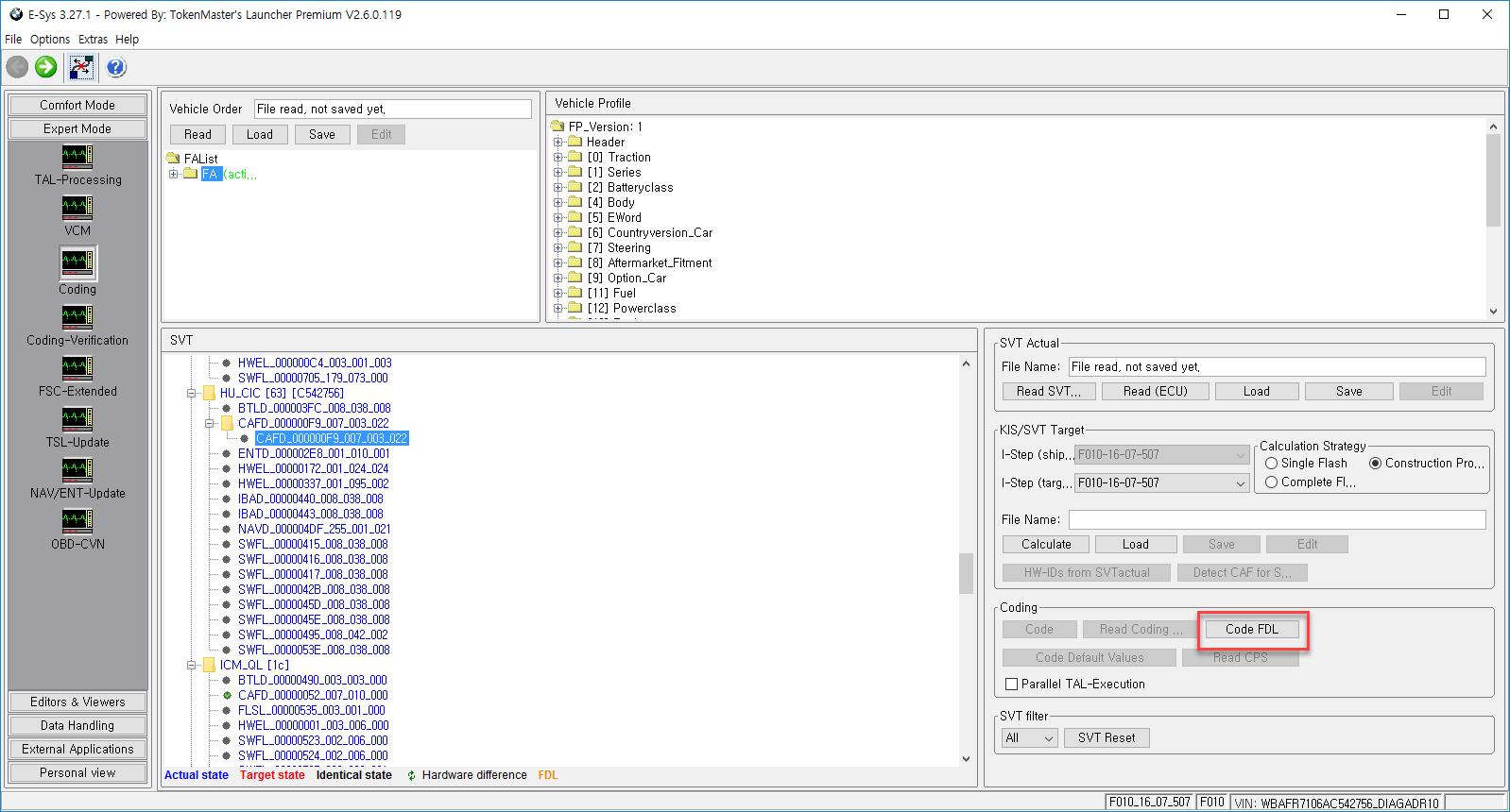 E-Sys для кодировок BMW F,G серий