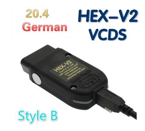 VCDS HEX V2 20.4.2  Немецкий / Английский