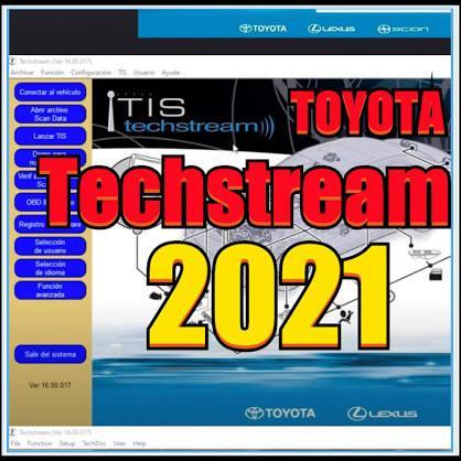 Toyota Techstream Software ( 02.2021 ) V16.00.017
