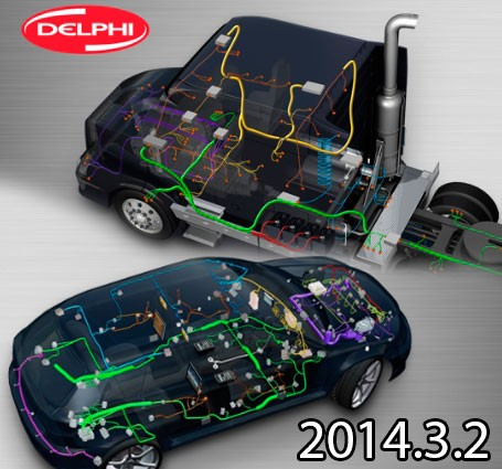 Delphi/Autocom 2014.3.2 + WOW! 4.15.3 + WOW! 5.00.8 (Образ VMware)