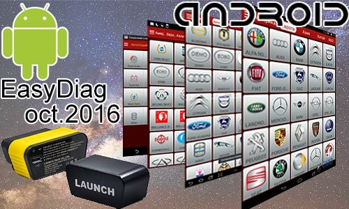 Launch EasyDiag обновления за октябрь 2016