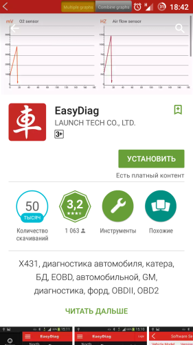 Launch EasyDiag скачать с PlayMarket