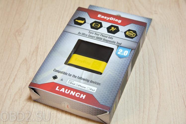 Launch EasyDiag упаковка, вид спереди