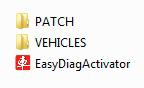 Структура папки программы