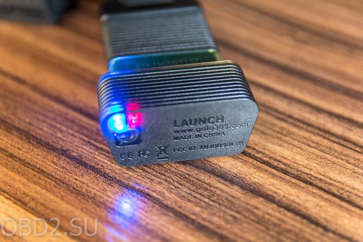 LAUNCH GOLO M-Diag световая индикация работы прибора