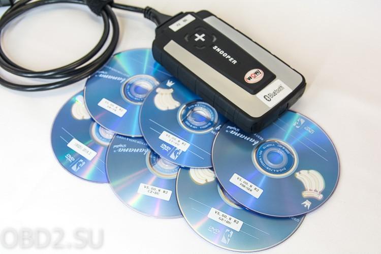 Snooper+ и 6 DVD дисков в придачу