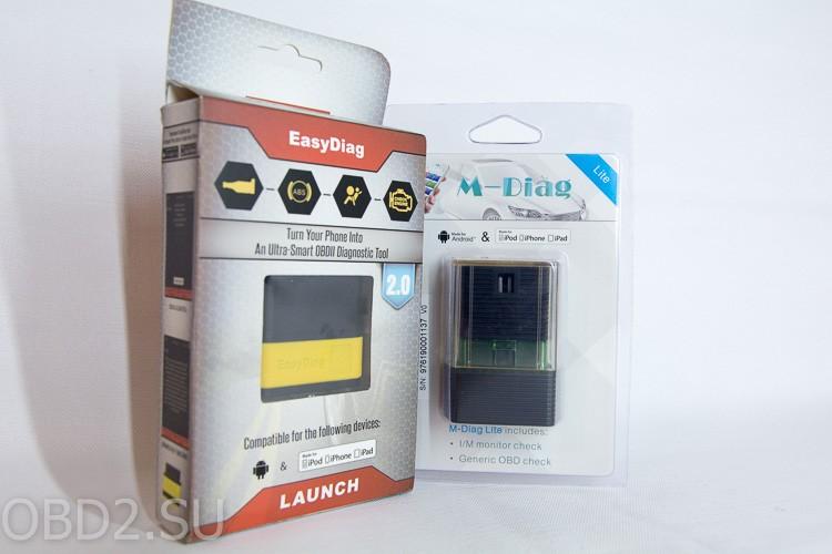 LAUNCH EasyDiag и GOLO M-Diag устройства в упаковках