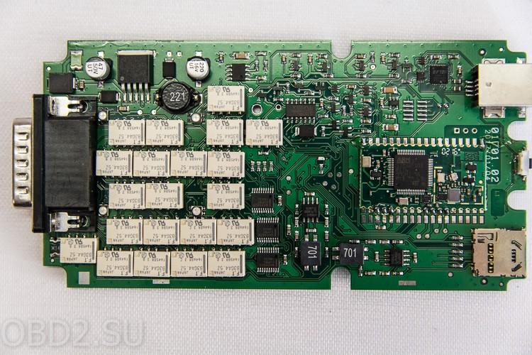 Фотография платы одноплатного Delphi DS-150E (вид сверху)
