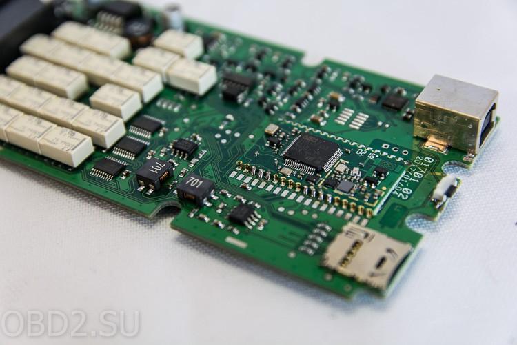 Одноплатный Delphi DS-150E фотографии платы