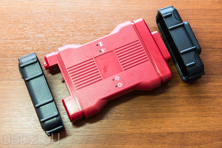 Ford VCM II снятие резинок на торцах
