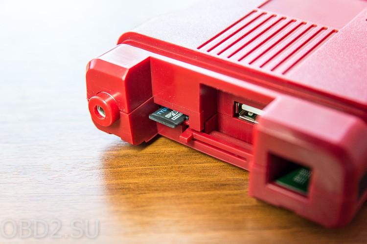 Ford VCM II извлечение micro SD карточки