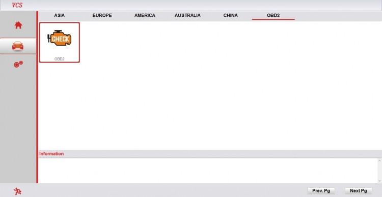 Super VCS скриншот OBD2