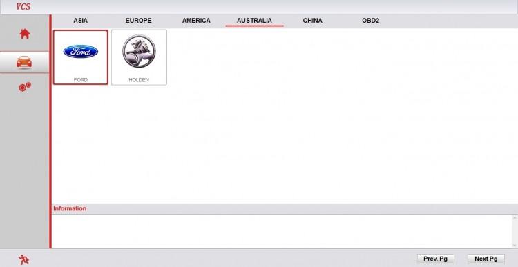 Super VCS скриншот австралийских марок доступных в программе