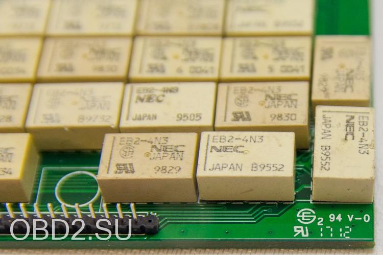 Autocom/Delphi V3.0 установлены реле NEC