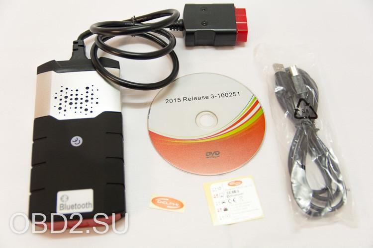 Содержимое коробки с Delphi DS-150E