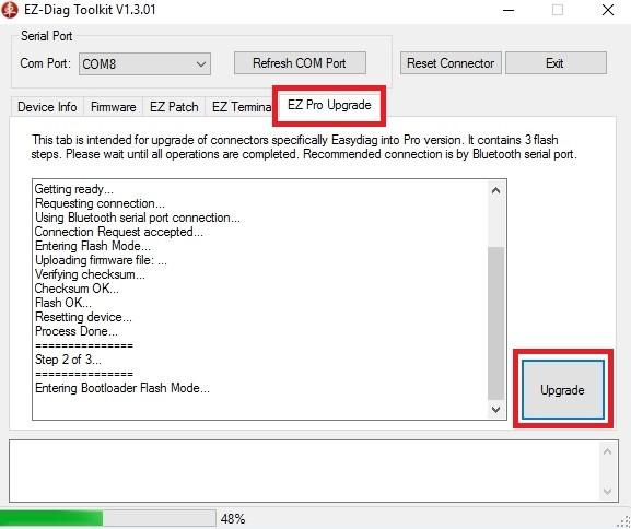 Простой способ разблокировки адаптера LAUNCH EasyDiag