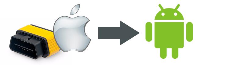 Переделка марок от iOS (iPhone, iPad) в марки для Android
