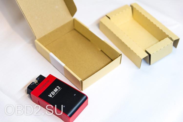 UCANDAS VDM2 содержимое упаковки прибора