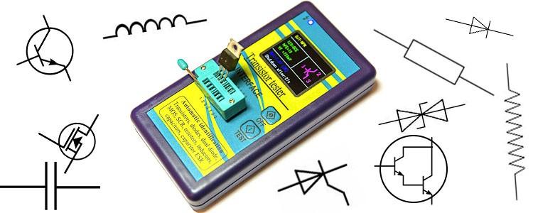 Универсальный тестер транзисторов и других компонентов