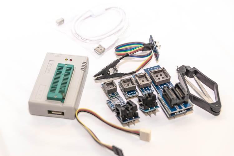 Полный комплект поставки MiniPro TL866A