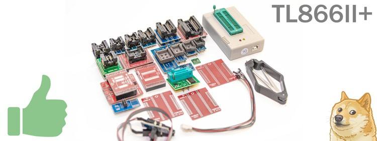 Универсальный программатор MiniPro (XGecu) TL866II Plus