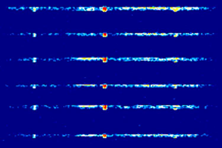 Просмотр пакетов автосигназации на спектрограмме SDR sharp и их анализ