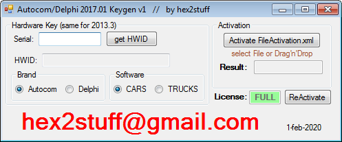 Autocom 2017 release 1 activator patch keygen