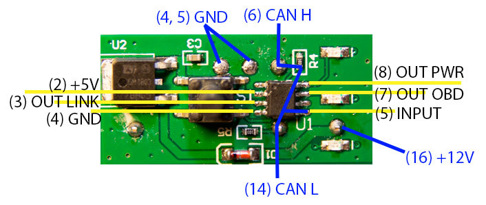 POWER PROG чип тюнинг - схема устройства
