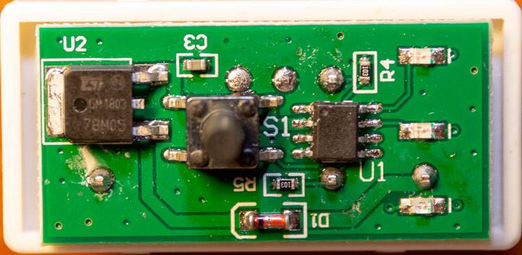 POWER PROG чип тюнинг - печатная плата устройства